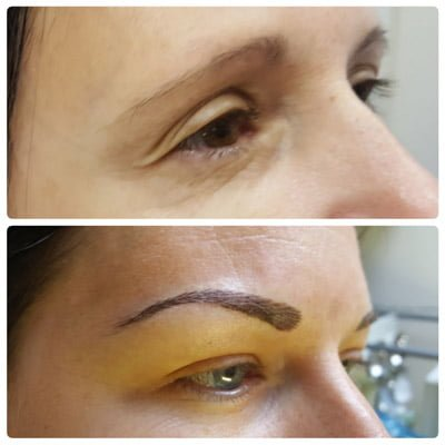 A photo about how does microblading work