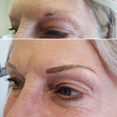 A photo of how long does microblading take