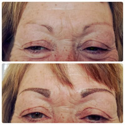is tattooed eyebrows permanent