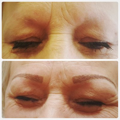 A client asking about microblading in hull