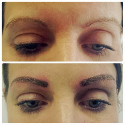 A client asking about microblading in sheffield